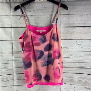 Rachel Roy pink printed tank top